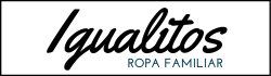 logo igualitos, ropa familiar